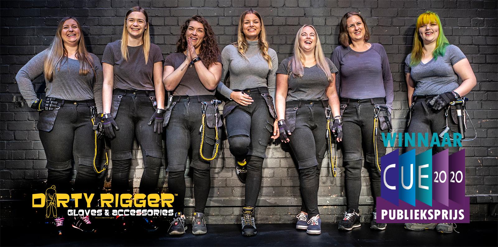 Dirty Rigger dames werkbroek