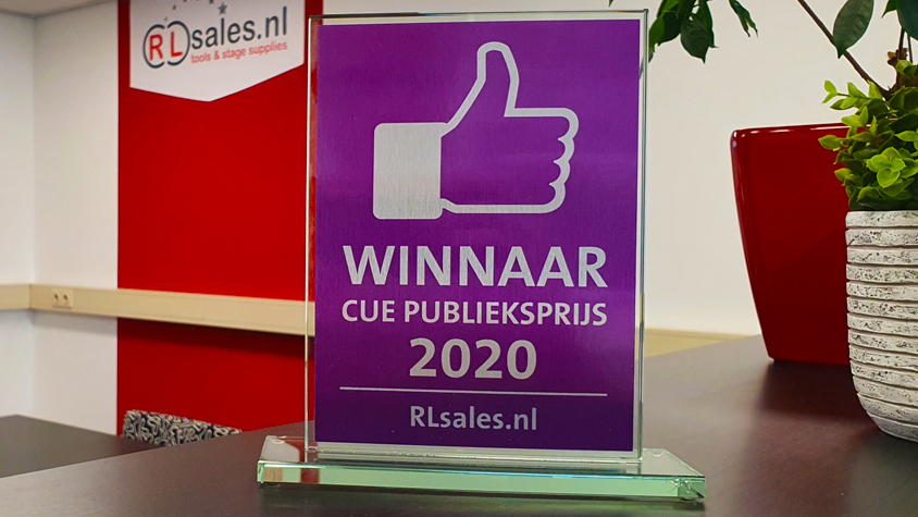 Winnaar CUE Publieksprijs 2020