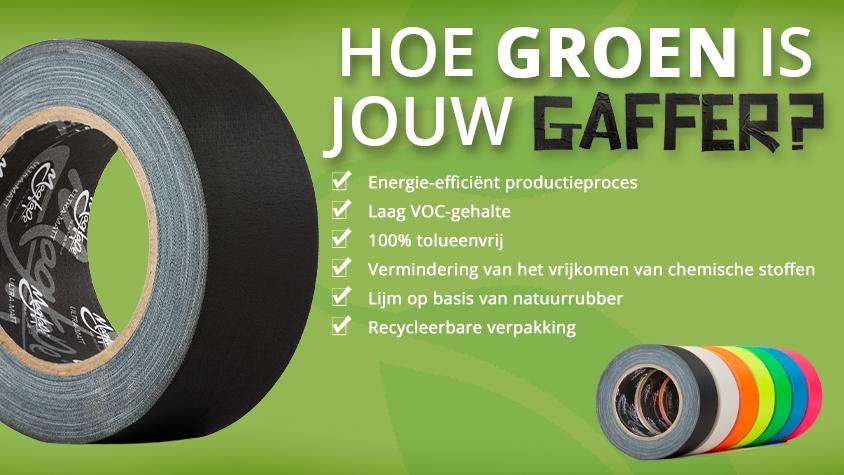 Hoe Groen is jouw Gaffer?